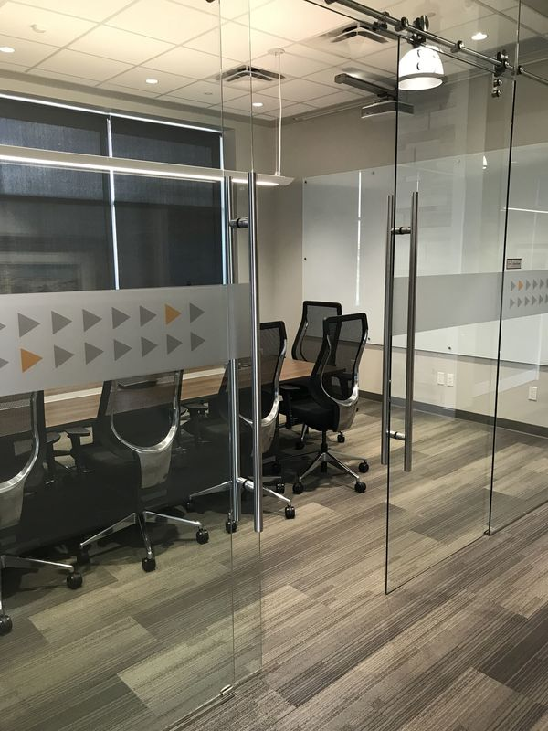 Boardroom in an office