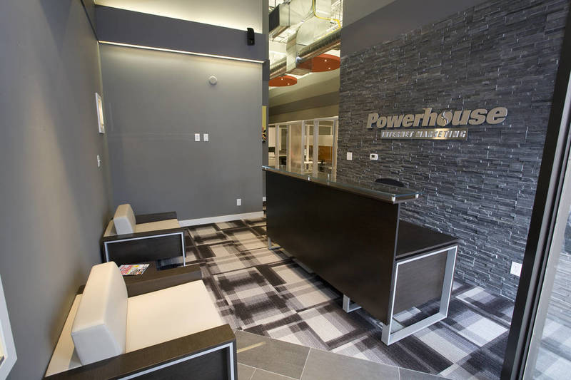 Powerhouse - Reception area design
